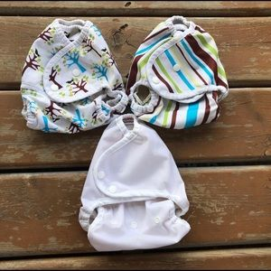 Thirsties & Blueberry Cloth Diaper Cover Lot